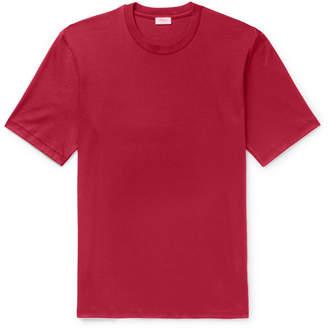 Zimmerli Sea Island Cotton-Jersey T-Shirt