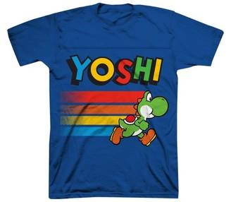 Super Mario Boys' Yoshi T-Shirt - Blue $8.99 thestylecure.com