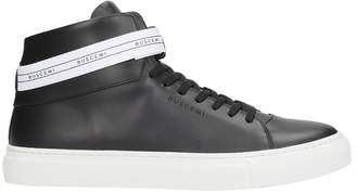 Buscemi Black Leather Sneakers