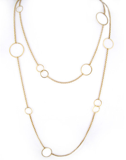 Zoe Chicco Mixed Circles Necklace
