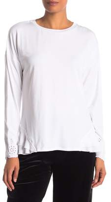 Laundry by Shelli Segal Knit Embellished Top