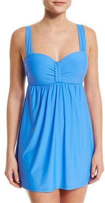 Athena CABANA SOLIDS SWIM DRESS $148 thestylecure.com