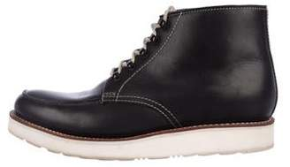 Grenson Leather Desert Boots
