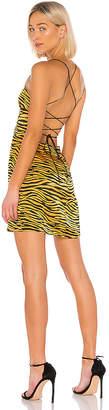 J.o.a. Backless Cowl Neck Mini Dress