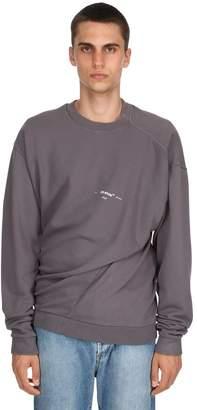 Off-White Twisted Vintage Cotton Sweatshirt