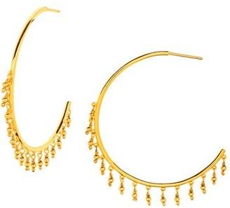 Women's Gorjana 'Sol' Hoop Earrings $65 thestylecure.com