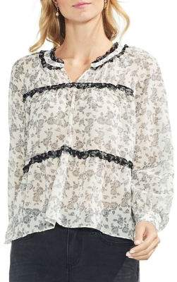 Vince Camuto Menswear Charm Floral Ditsy Blouse