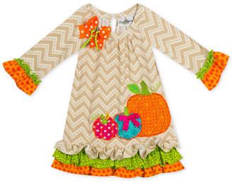 Rare Editions Toddler Girls Pumpkin Dress