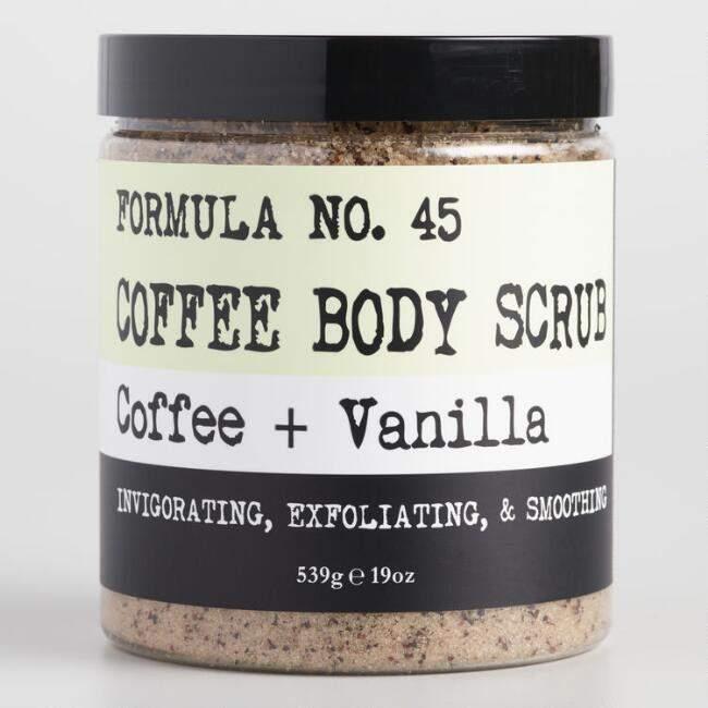 Coffee and Vanilla Body Scrub