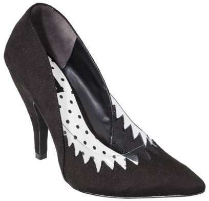 Women's Kate Young for Target® Neema Pump with Flame Detail - Black