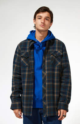 Katin Fred Plaid Flannel Long Sleeve Button Up Shirt