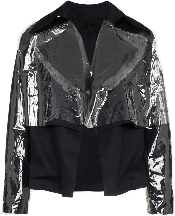 Paskal Vinyl-overlay cotton-blend jacket