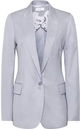 Reiss Etta Jacket - Slim Fit Blazer in Pale Blue