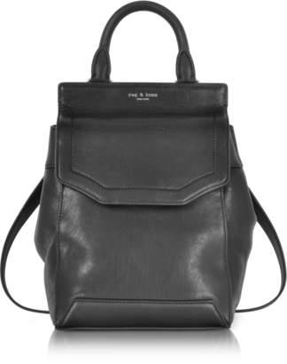 Rag & Bone Black Leather Small Pilot Backpack II