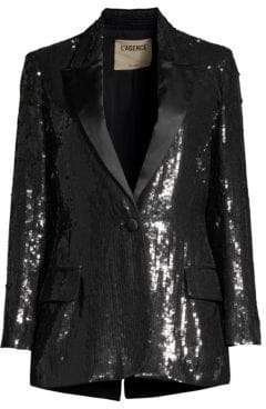 L'Agence Neval Sequin Blazer