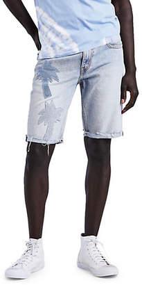 Levi's 511 Pasted Palm Slim-Fit Cotton Shorts