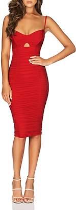 Nookie Romee Ruched Dress