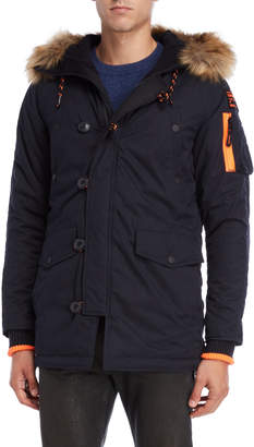 Superdry Faux Fur Trim Hooded Parka