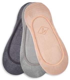 Sperry Rib-Knit Shoe Liners-Set of 3