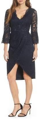 Eliza J Floral Lace Sheath Dress