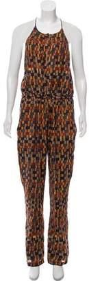 Etoile Isabel Marant Straight-Leg Printed Jumpsuit