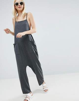 ASOS Jersey Minimal Jumpsuit with Ties $28 thestylecure.com