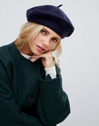 French Connection classic beret hat