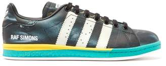 adidas Stan Smith Samba Print Leather Trainers - Womens - Black Multi