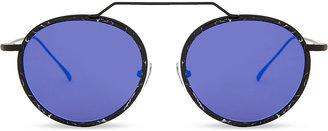 Wynwood Ace round-frame sunglasses