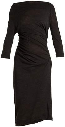 VIVIENNE WESTWOOD ANGLOMANIA Taxa asymmetric draped jersey dress
