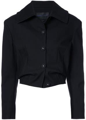 Proenza Schouler Single Breasted Cropped Jacket