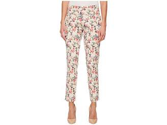 Jag Jeans Amelia Slim Ankle Pull-On Print Jeans in Sweet Peony Women's Jeans