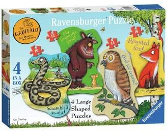 Ravensburger Gruffalo Large 4 Shaped Jigsaw Puzzle