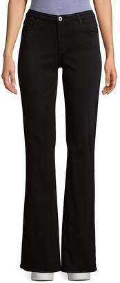 AG Adriano Goldschmied Women's Angel Bootcut Jeans - Black, Size 29 (6-8)