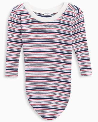 Splendid Girl Rib Stripe Sweater