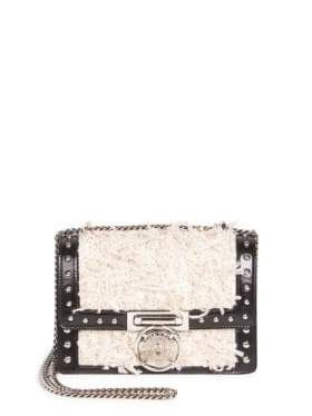Balmain Textured Chain Strap Box Bag