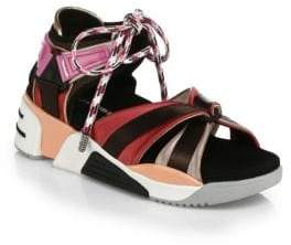 Marc Jacobs Somewhere Sporty Open-Toe Sandals