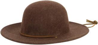 San Diego Hat Company Womens Chin Cord Felt Floppy Hat