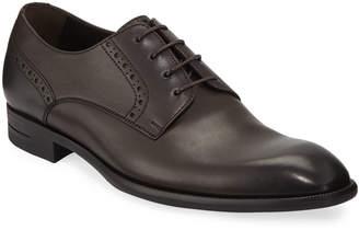 Ermenegildo Zegna Men's New Flex Derby Shoes, Brown