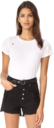 Wildfox Destroyed Heights Crew Tee $68 thestylecure.com