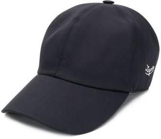 Ermenegildo Zegna embroidered logo cap