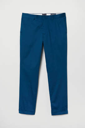 H&M Skinny Fit Chinos - Blue
