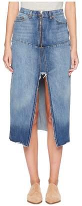 The Kooples Long Denim Skirt Women's Skirt