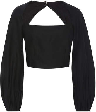 Mara Hoffman Moon Puff Sleeve Top
