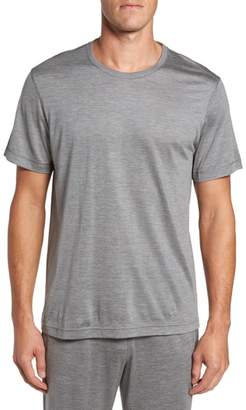 Daniel Buchler Silk & Cotton Crewneck T-Shirt