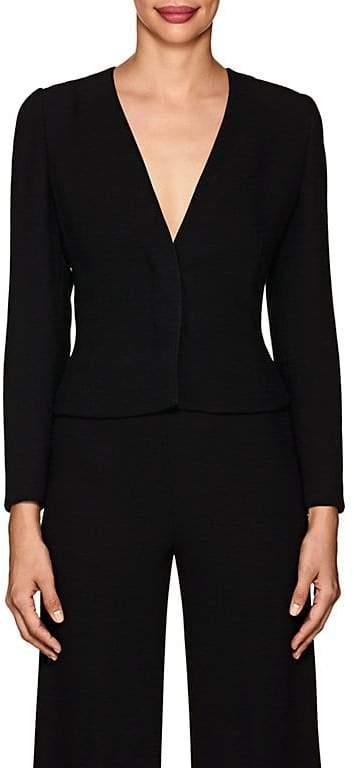 Women's Wool Cady Collarless Jacket