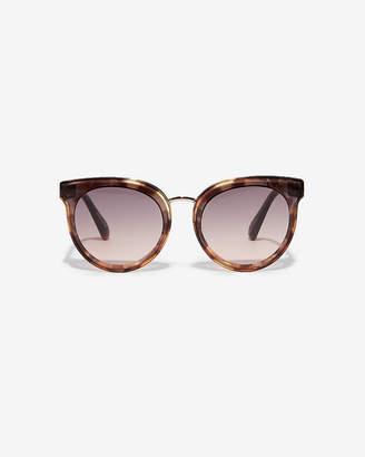 Express Cat Eye Sunglasses