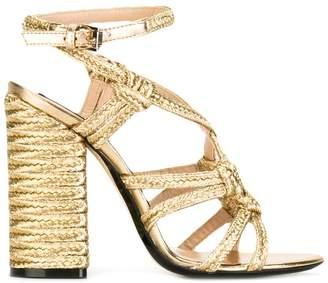 No.21 braided detail sandals