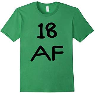 Abercrombie & Fitch 18 Funny 18th Birthday T-Shirt
