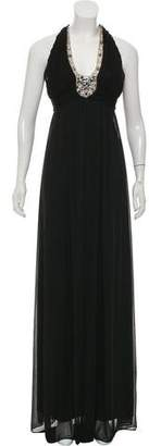 Adrianna Papell Embellished Evening Gown
